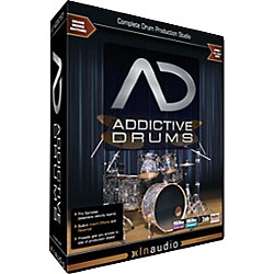 XLN Audio Addictive Drums Software Download (XL1001SN)