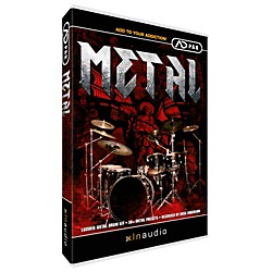 XLN Audio Metal ADpak ADpak Addictive Drums Expansion Pack Software Download (XL1056SN)
