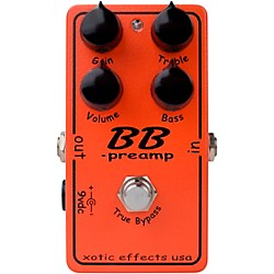 Xotic BB Preamp Overdrive Guitar Effects Pedal (USED004000 BBPREAMP)