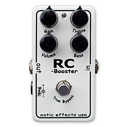 Xotic RC Booster Clean Boost Guitar Effects Pedal (USED004000 RC Booster)
