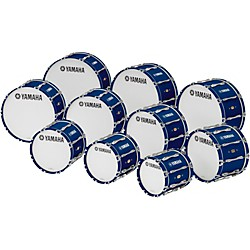 "YAMAHA 32"" x 14"" 8300 Series Field-Corps Marching Bass Drum (MB-8332BUR)"
