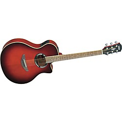 YAMAHA APX500II Thinline Cutaway Acoustic-Electric Guitar (APX500II DRB)