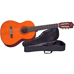 YAMAHA CGS Student 1/2-Size Classical Guitar with Nylon Case (CGS102AII-SCCG2)