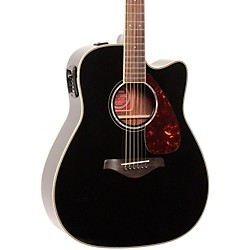 YAMAHA FGX730SC Solid Top Acoustic-Electric Guitar (FGX730SC BL)