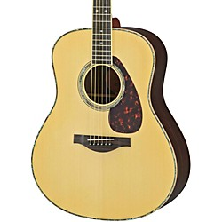 YAMAHA LL16RD L Series Solid Rosewood/Spruce Dreadnought Acoustic-Electric Guitar (LL16RDHC)