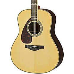 YAMAHA LL16RL L Series Solid Rosewood/Spruce Dreadnought Left-Handed Acoustic-Electric Guitar (LL16RLHC)