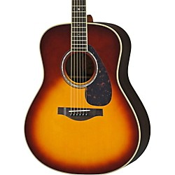 YAMAHA LL6R L Series Rosewood/Spruce Dreadnought Acoustic-Electric Guitar (LL6RBSHC)