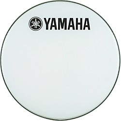 YAMAHA Marching Bass Drum Head with Fork Logo (DH-BR-1220)