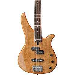 YAMAHA RBX170EW Electric Bass Guitar with Exotic Mango Wood Top (RBX170EW NATURAL)