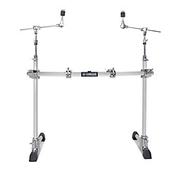 Yamaha 2-Leg Hexrack with Hexagonal Curved Pipe and Cymbal Boom Arms (HXR2LCHII)