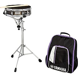 Educational snare kits for Yamaha student bell kit with backpack and rolling cart