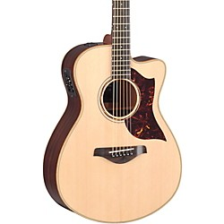 Yamaha A-Series All Solid Wood Concert Acoustic-Electric Guitar with SRT Preamp/Pickup (AC3R MF)