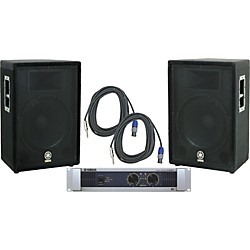 Yamaha A15/ P5000S Speaker & Amp Package (KIT - 584978)