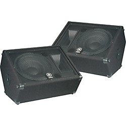"Yamaha BR15M 15"" 2-Way Monitor Pair (KIT773232)"