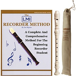 Yamaha Baroque Soprano Recorder with Book (KIT-460055)