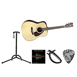 Yamaha Beginner Acoustic-Electric Guitar Bundle (YAM FX325 AE BNDL)