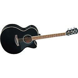 Yamaha CPX500II Medium-Jumbo Cutaway Acoustic-Electric Guitar (CPX500II BL)