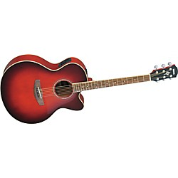 Yamaha CPX500II Medium-Jumbo Cutaway Acoustic-Electric Guitar (CPX500II DRB)