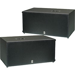 "Yamaha CW218V Dual 18"" Club Concert Series Subwoofer Pair (KIT773240)"