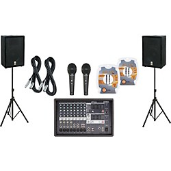 Yamaha EMX512SC / A12 PA Package (EMX512SC A12 KIT)
