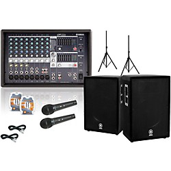 Yamaha EMX512SC / A15 PA Package (EMX512SC A15 KIT)