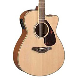 Yamaha FSX720SC Solid Top Concert Cutaway Acoustic-Electric Guitar (FSX720SC)