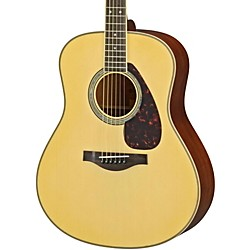 Yamaha LL16M L Series Solid Mahogany/Spruce Dreadnought Acoustic-Electric Guitar (LL16MHC)