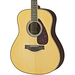 Yamaha LL16R-12 L Series 12-String Solid Rosewood/Spruce Dreadnought Acoustic-Electric Guitar (LL16R-12HC)