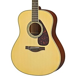 Yamaha LL6M L Series Mahogany/Spruce Dreadnought Acoustic-Electric Guitar (LL6MHC)