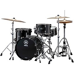 "Yamaha Live Custom 3-Piece Shell Pack with 22"" Bass Drum (LC2F30JBKW Kit)"