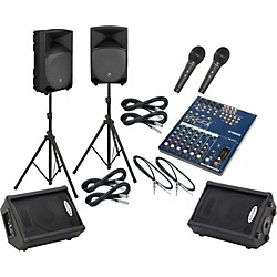 Yamaha MG102C / TH-12A Mains & Monitors Package (MG102CTH12AMM)