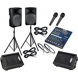 Yamaha MG102C / Thump TH-15A Mains & Monitors Package (MG102CTH15AMM)