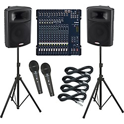 Yamaha MG166C / Harbinger APS15 PA Package (KIT883681)