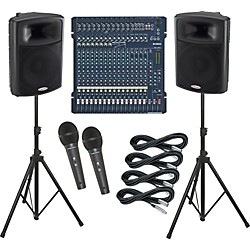 Yamaha MG206C / Harbinger APS15 PA Package (KIT883627)