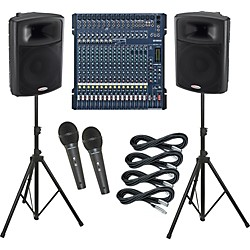 Yamaha MG206C-USB / Harbinger APS15 PA Package (KIT883626)