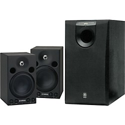 Yamaha MSP3/SW005 Powered Studio Monitor System (Kit-600903)
