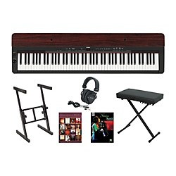 Yamaha P-155 Rosewood Keyboard Package 1 (YAMP155A1)