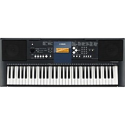 Yamaha PSR-E333 61-Key Mid-Level Portable Keyboard with Survival Kit (PSRE333 KIT)