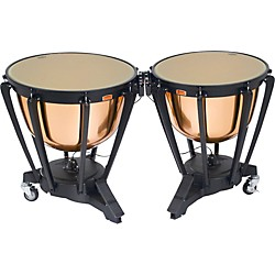 "Yamaha Polished Copper Symphonic Timpani Set  26"" & 29"" w/Covers (TP6202ACL)"