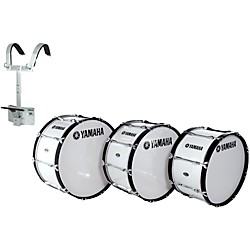 Yamaha Power-Lite Marching Bass Drum with Carrier (MB-6318WR-KIT)