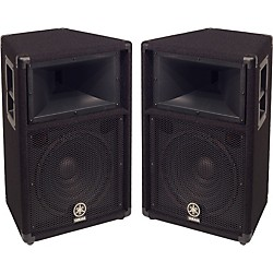 "Yamaha S112V 2-Way 12"" Club Series V Speaker Pair (KIT773222)"