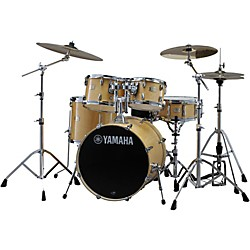 "Yamaha Stage Custom Birch 5-Piece Shell Pack with 22"" Bass Drum (SBP2F50NW)"