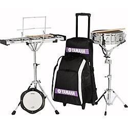 Yamaha Student Combination Snare/Bell Kit with Backpack and Rolling Cart (SCK-275R-KIT)