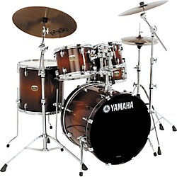 Yamaha Tour Custom 5 Piece Fusion Floor Shell Pack (TCFS50NW)