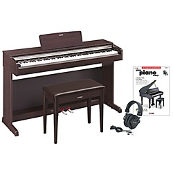 Yamaha YDP-142 Digital Piano Package 2 (YAMYDP142RDPP2)