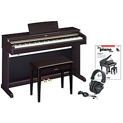 Yamaha YDP-162 Digital Piano Package 2 (YAMYDP162RDPP2)