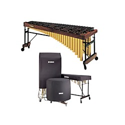 Yamaha YM-4600AC Marimba with Drop Cover (YM-4600AC KIT)