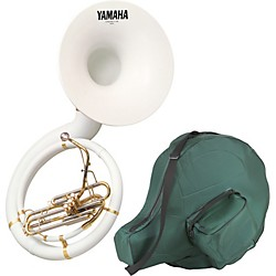 Yamaha YSH-301B Series Fiberglass BBb Sousaphone with Soft Carrying Bag (YSH-301B KIT)