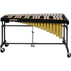 Yamaha YV-2700GC 3 Octave Intermediate Vibraphone, Gold With Cover (YV-2700GC KIT)