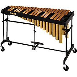 Yamaha YVRD-2700GC Gold Intermediate Vibraphone With Multi-Frame II Stand and Cover 582355 (YVRD-2700GC KIT)